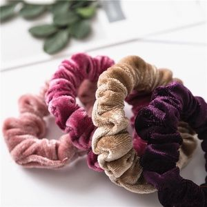 Huge scrunchy pony lot velour resell wholesale